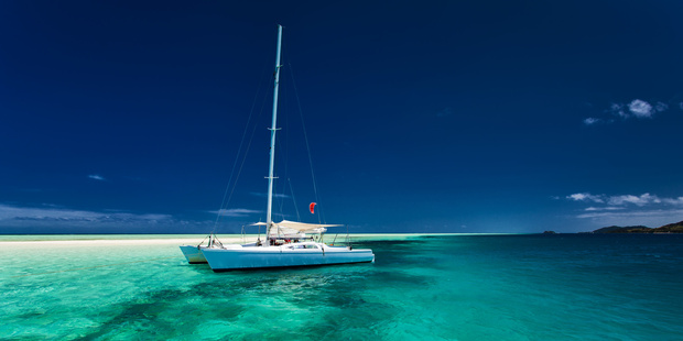 Explore French Polynesia from a chartered catamaran. Photo / 123RF