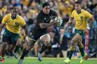 All Blacks centre Malakai Fekitoa in action against Australia. Photo / Brett Phibbs