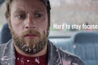 New Zealand Transport Agency advertisement on drug-driving. Photo / Supplied