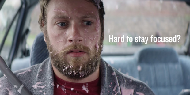 Loading New Zealand Transport Agency advertisement on drug-driving. Photo / Supplied