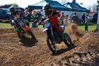 JET PROPELLED: Whanganui dirt bike rider Jet Ashworth (306) crashed twice yet still finished third in the NZ Interschool Motocross Championship in  Bay of Plenty.