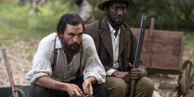 Matthew McConaughey and Mahershala Ali in Free State of Jones.
