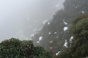 Police postponed their search overnight for the Italian tramper who died on the Routeburn track.  Photo / via Police