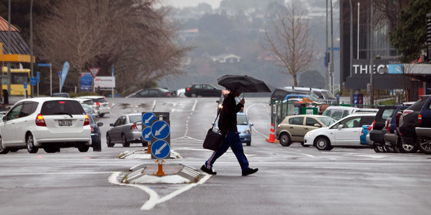 It was a wet one in Tauranga yesterday and this won't change until Sunday. Photo/Andrew Warner