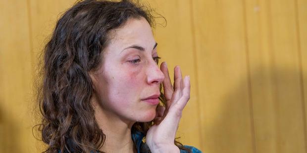 Loading Czech tourist Pavlina Pizova spoke about her ordeal through tears. Photo / James Allan