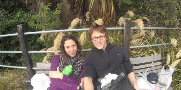 Pavlina Pizova and Ondrej Petr. Photo / supplied