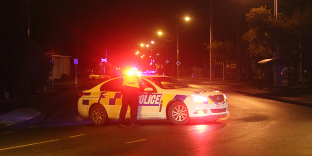 The driver fled from police initiating a short pursuit before crashing minutes later on Kamo Rd in Whangarei. Photo / Jonty Hare