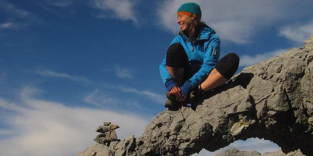 Pavlina Pizova was missing on the Routeburn Track for over a month before she was rescued. Photo / Facebook
