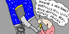 View: Cartoon: Imagine a new planet...