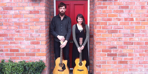 Monty Bevins and Amiria Grenell will play at the Whanganui Musician's Club on September 2.