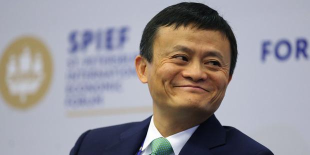 Jack Ma, billionaire and chairman of Alibaba Group Holding Ltd. Photo / Bloomberg