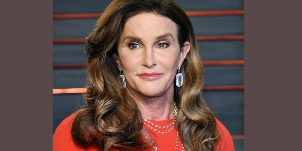 Caitlyn Jenner attends the Vanity Fair Fair Oscar Party in Beverly Hills.