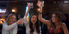 Kristen Bell, Mila Kunis and Kathryn Hahn in a scene from Bad Moms. Picture / AP