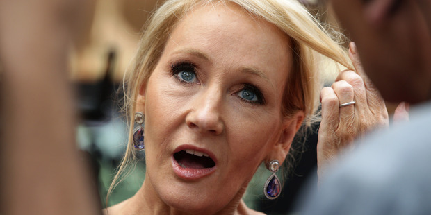 Is writer J.K. Rowling still the ruler of the Harry Potter universe? Photo / AP