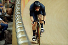 Dylan Kennett of New Zealand competes in the men's cycling omnium time trial at the Rio Olympic Velodrome during the 2016 Summer Olympics in Rio. Photo / AP.