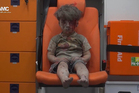 A photo of five-year-old Omran Daqneesh has become the haunting image of the unforgiving struggle. Photo / AP