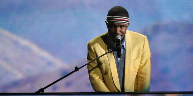 "Frank Ocean's 17-track album ""Blonde"" was released on Saturday on Apple Music, one day after the R&B singer released a 45-minute ""visual album"" on the streaming service. Photo / AP"