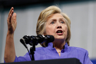 Clinton has said about 30,000 personal emails were deleted from the server. Photo / AP