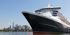 The Queen Mary 2 docked at the Brooklyn Cruise Terminal in New York. Photo / AP