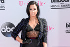 Demi Lovato arrives at the Billboard Music Awards in Las Vegas this year. Photo / AP