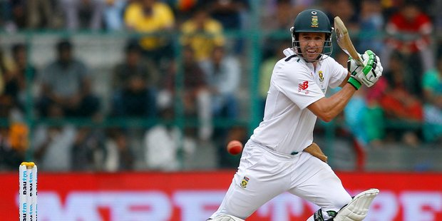 South Africa's AB de Villiers. Photo / AP
