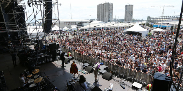 Laneway's main issue is its concrete-jungle venue, but otherwise it's going strong. Photo / Doug Sherring