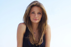 Mischa Barton on the set of hit series The OC. Photo / Supplied
