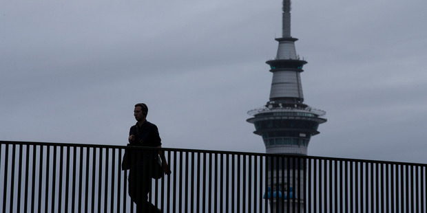 In Auckland, 17 per cent preferred to make trips by foot. Photo / Jason Oxenham