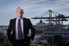 Auckland Mayoral candidate Phil Goff favours a national strategy that could involve the merger of Auckland and Tauranga ports. Photo / Nick Reed