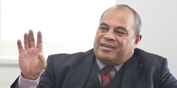Labour MP Su'a William Sio says more protests are likely over a Mangere housing development. PHOTO/ STEPHEN PARKER.