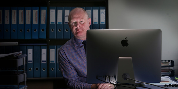 Schools, approved tertiary providers and school-age students can now turn to online learning. Pictured, Mount Maunganui College principal Russell Gordon. PHOTO/FILE