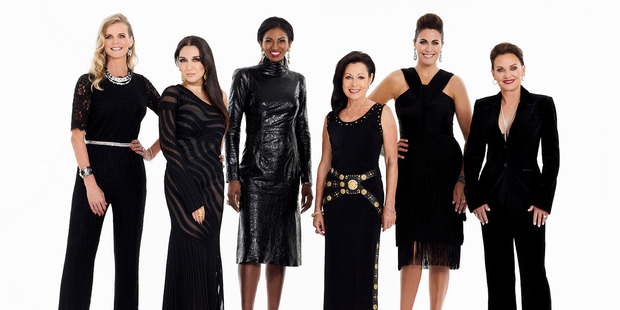Loading The Real Housewives of Auckland cast.