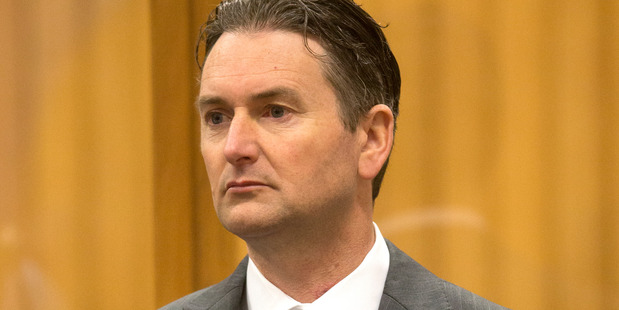 Quinton Winders is charged with the murder of stop-go worker George Taiaroa. Photo / Alan Gibson