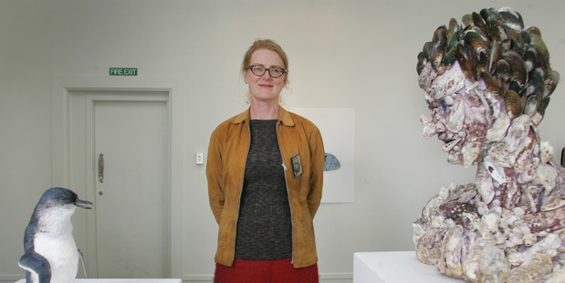 Andrea du Chatenier is one of three Whanganui artists who have made the finals of the Wallace Art Awards.