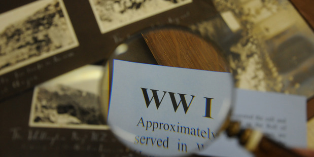 New Zealand soldiers' experiences in France during the First World War will be remembered in a special national commemoration. Photo / Wanganui Chronicle