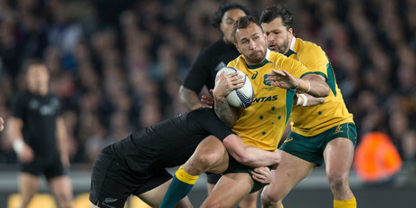 Australia's Quade Cooper has been public enemy No 1 for many years. Photo / NZ Herald