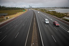 The NZ Transport Agency is warning motorists there could be delays when maintenance works begin on the Northern Motorway next week. Photo / Chris Loufte