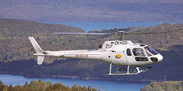 BayTrust Rescue Helicopter. Photo / NZME