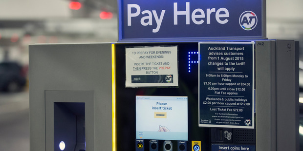 "Auckland Council carparks charge ""excessive"" fees for lost tickets. Photo / Nick Reed"