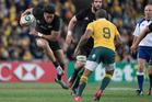 All Blacks winger Julian Savea in action against Australia last weekend. Photo / Brett Phibbs