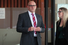 Grant Tucker faces two charges of disgraceful misconduct and is appearing before a Real Estate Agents Disciplinary Tribunal this week. Photo / Doug Sherring