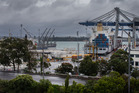 It's been a tough year for the Ports of Auckland. Photo / Herald on Sunday