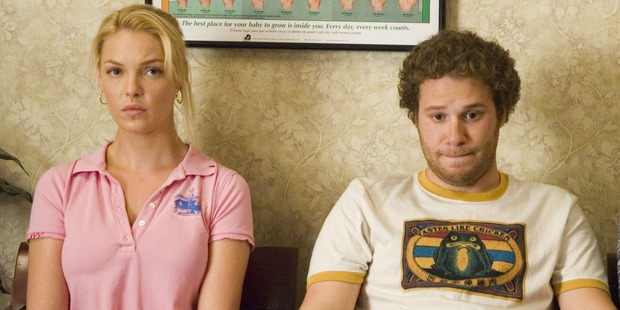 Heigl starred alongside Seth Rogen in the comedy Knocked Up. Photo / Supplied