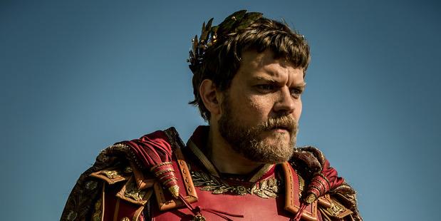 Pilou Asbaek as Pontius Pilate in Ben-Hur.
