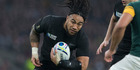 Long-time All Blacks second-five Ma'a Nonu has left big boots to fill. Anton Lienert-Brown gets his shot in Wellington tomorrow.  Picture / Brett Phibbs