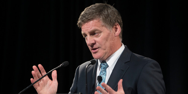 Bill English says commemoration day will almost certainly be locally driven. Photo / Mark Mitchell