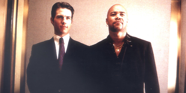Tom Cruise and Cuba Gooding Jnr in the movie Jerry Maguire. Photo / supplied