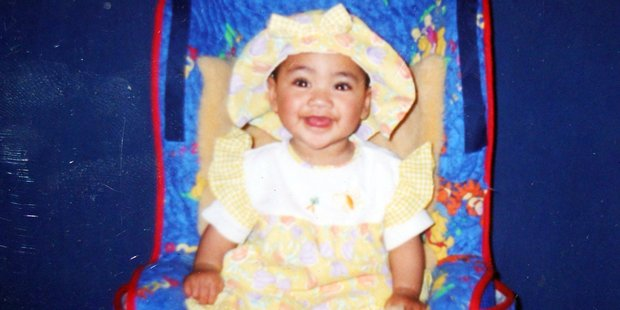 Nia Glassie, the 3-year-old toddler who was subjected to horrific abuse by her extended family. Photo / Supplied