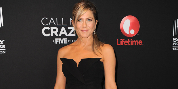 Jennifer Aniston's feud with her mother seems to have gone beyond the grave. Photo / AP