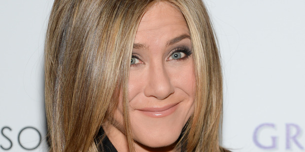 Actress Jennifer Aniston also makes the highest paid list. Photo / AP